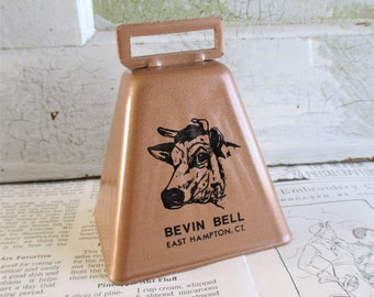 Vintage Bevin Bell East Hampton CT Cow Bell