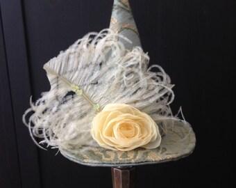 Witch Mini Hat Fascinate, Marie Antoinette Halloween Fascinator