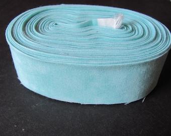 Quilt Binding #169 Aqua Marine Textured 12 yds Single Fold 100/% Cotton Fabric