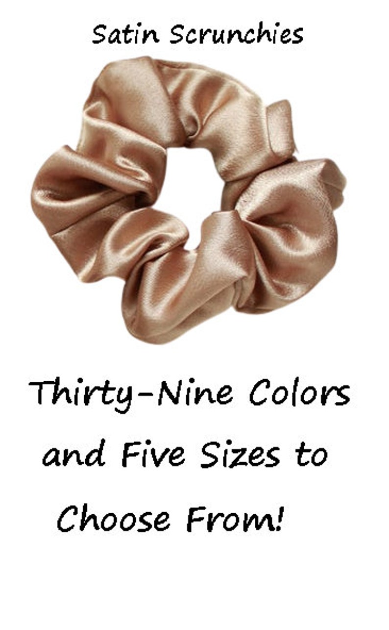 How To Sewing Scrunchy Kit DIY Scrunchie Kit Classic Scrunchie Sewing Projects Satin Hair Tie Birthday DIY Gift DIY Craft Kit