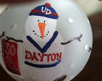 University of Dayton ornament