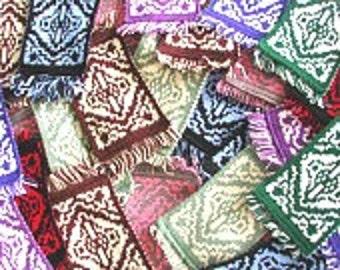 Flying Carpet Knit Mugrug Coaster