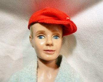 Ken doll MCMLX, Vintage Barbie friend doll 1960 Ken doll in swim suit