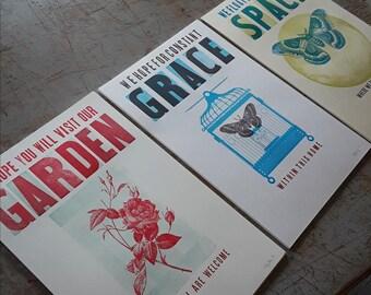 ALL 3! Workshop Print Series