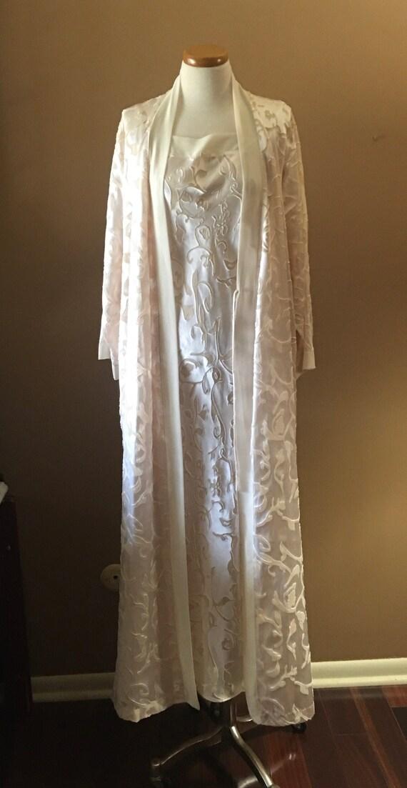 Natori Peignoir, Bridal Sleepwear, Trousseau size… - image 1
