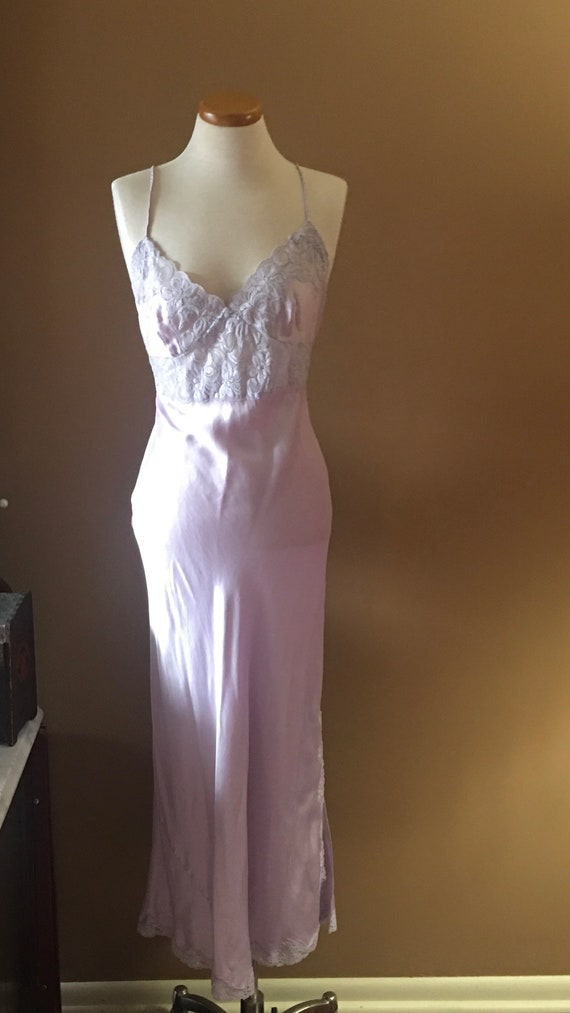 Willow Blossom Dusty Lilac  Gown, Lingerie, Neglig