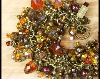 Brown Jumble Bracelet