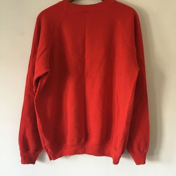 Arbres de Vintage Puerto Rico Sweatshirt, Collier Collier Sweatshirt, ras de cou rouge Tropical PR graphique manches longues Palm Beach 377021