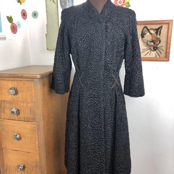 Vintage Persian Lamb Princess Coat, Genuine Fur Co