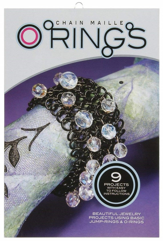 Jewelry Making Book Chain Maille Instructions Chain Maille Etsy