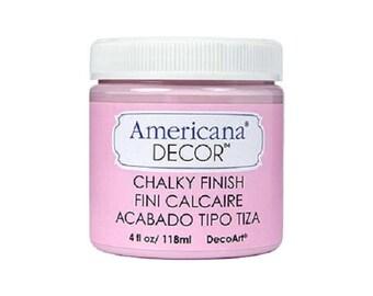 Chalky Finish Paint DecoArt Americana Decor INNOCENSE PINK