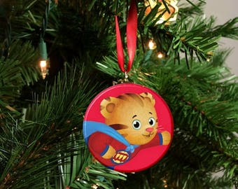 Daniel Tiger's Neighborhood Super Tiger Christmas Tree Ornament