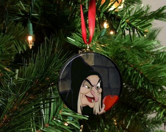 Snow White Evil Queen Old Hag Christmas Tree Ornament