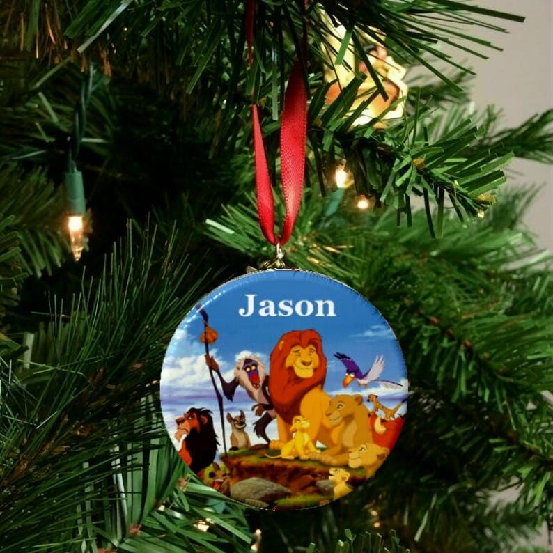 Personalized The Lion King Christmas 2 25 Ornament