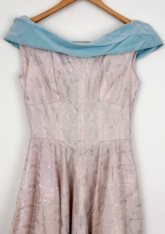 Lilac 1950's Gala Dress - image 4