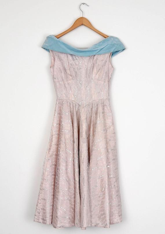 Lilac 1950's Gala Dress - image 2
