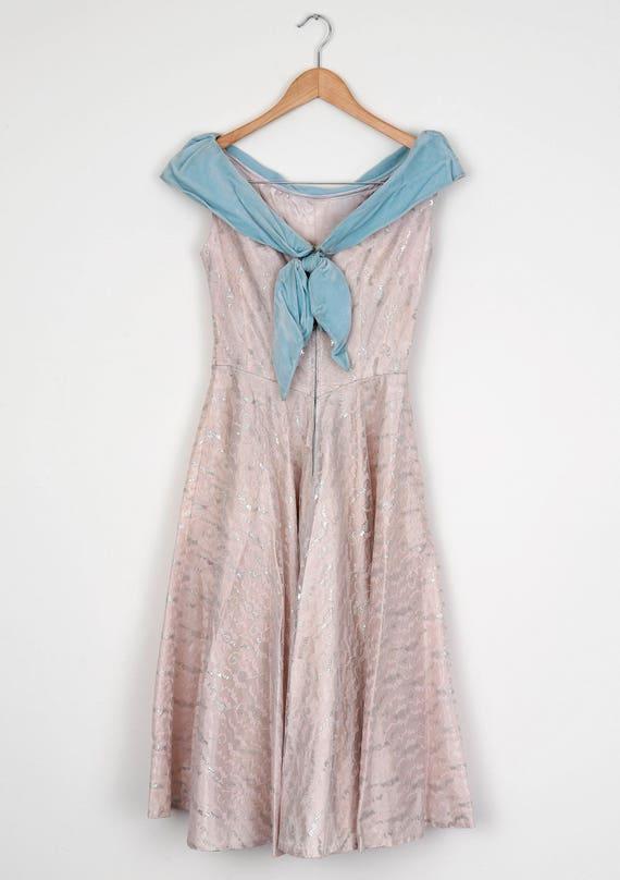 Lilac 1950's Gala Dress - image 3