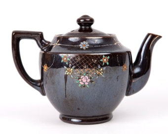 Vintage Japanese Hand Painted Teapot