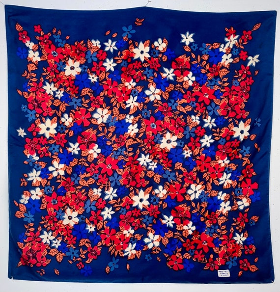 Liberty of London Vintage Scarf Floral Motif