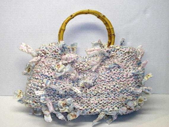 Handbag Knitting Pattern Knitting With Fabric Purse Knitting Patterns Rags To Riches Knitting Gifts Purse Patterns Purse Knitting Patterns
