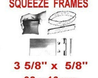 SQUEEZE FRAME, 3 5/8, Coin Purse, Eye Glass Case, Pouch, 92mm, 4 Pouch Frame SETS