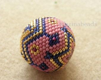 Bigball Beaded bead TUTORIAL