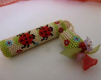 PATTERN Needle case Ladybug