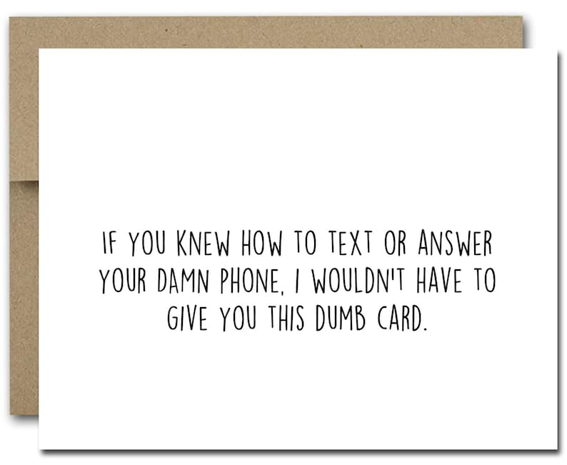 picture relating to Printable Funny Birthday Card named PRINTABLE Humorous Birthday Card, Amusing Words and phrases Card, Amusing Close friend Card, Cell phone Card, Simplest Pal Card, Humorous Birthday Card, Coworker Card