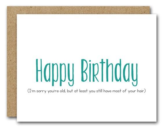 Printable Funny Birthday Card Birthday Card Happy Birthday Etsy