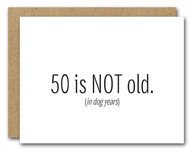 50th Birthday Card INSTANT DOWNLOAD Funny Happy