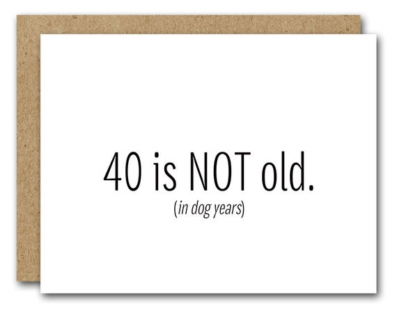 Printable 40th birthday card instant download funny 40th etsy image 0 m4hsunfo