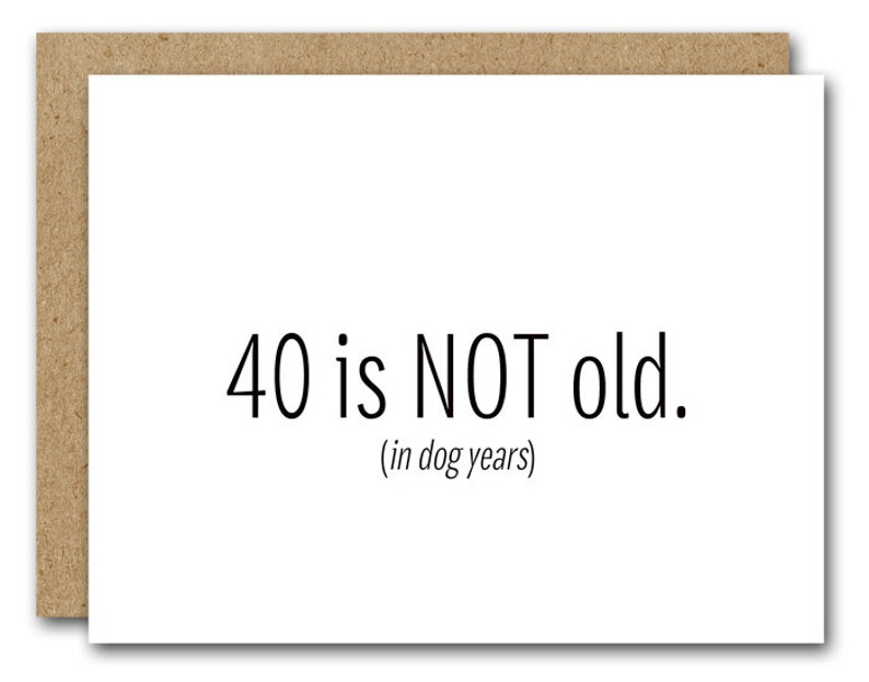 Printable 40th Birthday Card INSTANT DOWNLOAD Funny