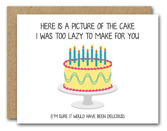 Printable Birthday Card INSTANT DOWNLOAD