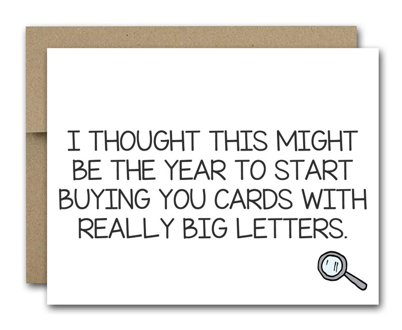 PRINTABLE Funny Birthday Card Friend