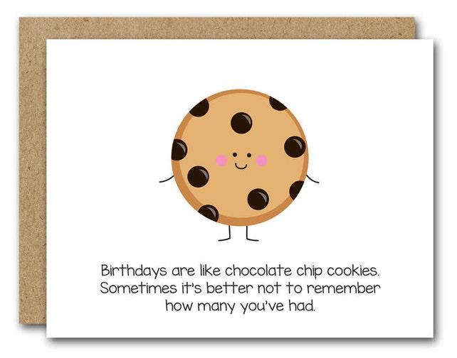 PRINTABLE Funny Birthday Card Happy Friend Mom