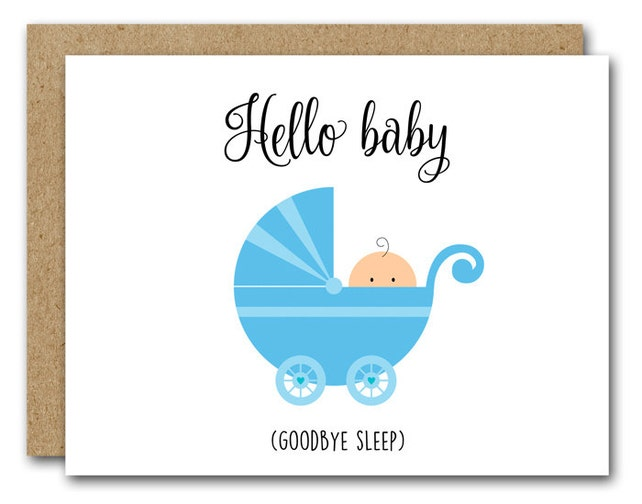 Printable New Baby Card Congratulations Baby Card Baby Shower Card