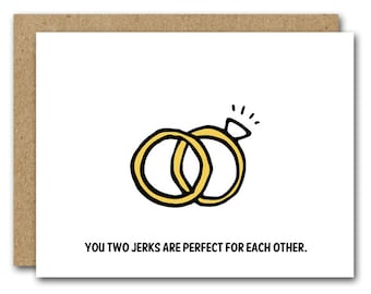 Funny Wedding Card, INSTANT DOWNLOAD, Funny Anniversary Card, Funny Engagement Card, Couple Card, Anniversary Card, Funny Marriage Card