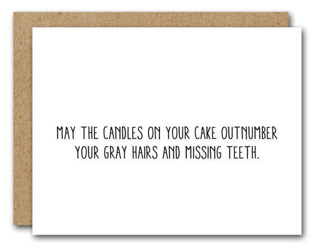 PRINTABLE Printable Birthday Card Funny Friend Coworker Mom Dad INSTANT DOWNLOAD