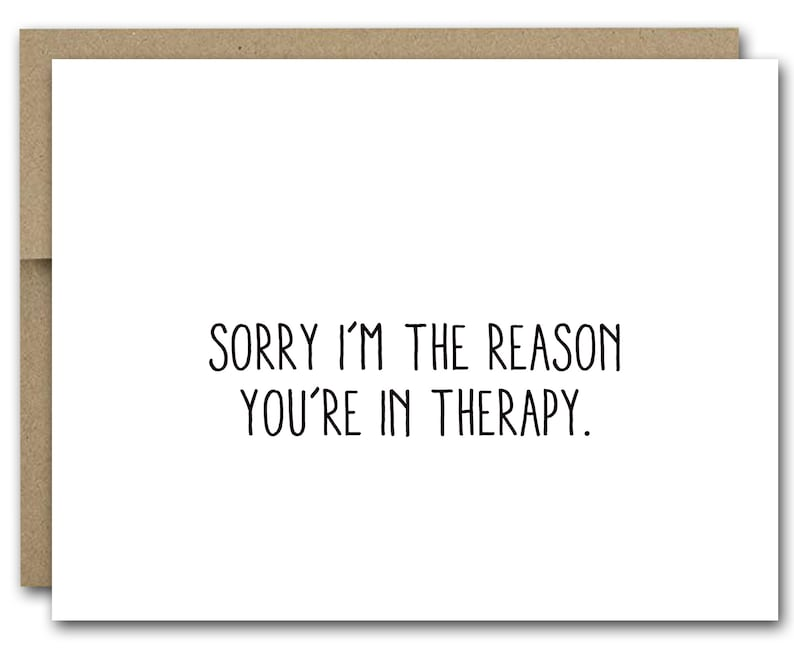 image relating to Printable Sorry Card named PRINTABLE Humorous Sorry Card, Amusing Good friend Card, Sorry Im The Purpose Youre Inside Treatment method, Ideal Pal Card, Buddy Birthday Card, Friendship Card