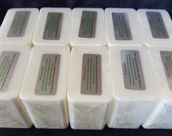 10 lb or 18 lb Raw SHEA BUTTER SOAP Melt and Pour Base Vegan Glycerine 100% All Natural Wholesale Bulk Glycerin Unrefined Pure Moisturizing
