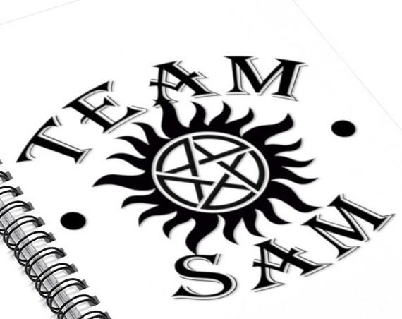 Team Sam - Spiral Notebook - Ruled Line
