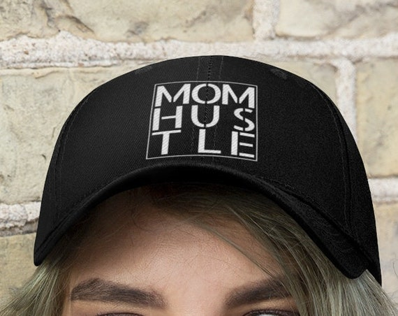 Mom Hustle Embroidered Twill Hat