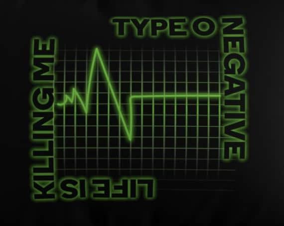 Life is Killing Me - Microfiber Pillow Sham - Bedding - Decor - Type O Negative - Peter Steele