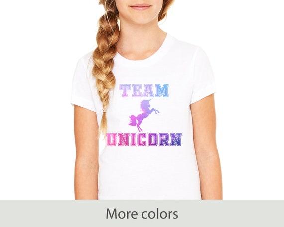 Team Unicorn - Kids Regular Fit Tee