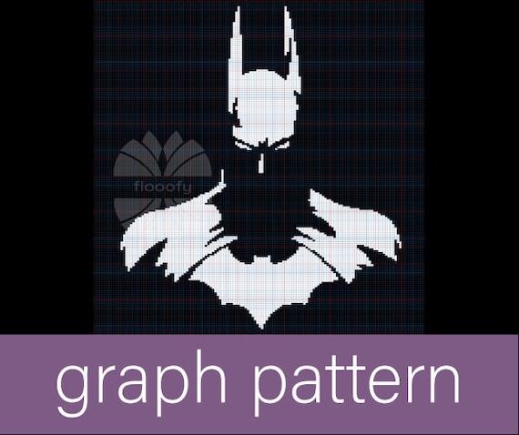 Batman (Inspired) Medium Graph Pattern