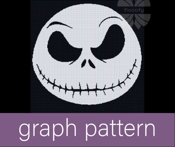 Jack Skellington (Medium) Graph Pattern