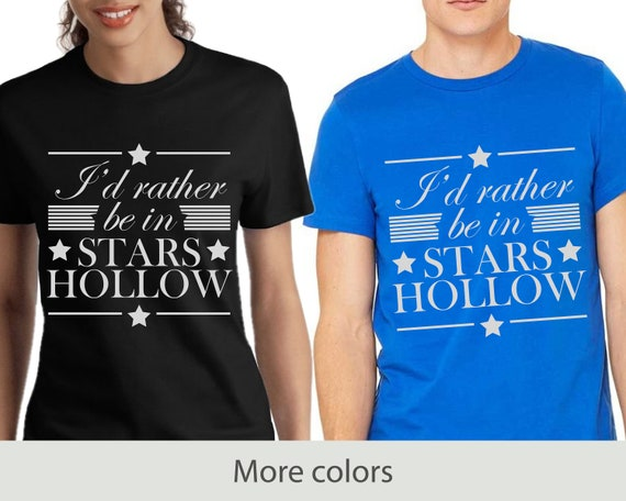 I'd Rather Be In Stars Hollow - Unisex Jersey Short Sleeve Tee - Gilmore Girls