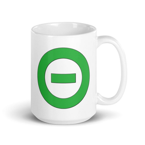 Logo - Glossy Ceramic Coffee Mug - Type O Negative - Goth - Music - Metal - Peter Steele - Gothic - Band