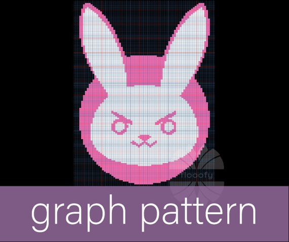 Diva Bunny (Extra Small) Graph Pattern