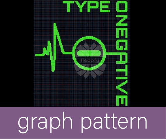 Type O Negative (Medium) Graph Pattern